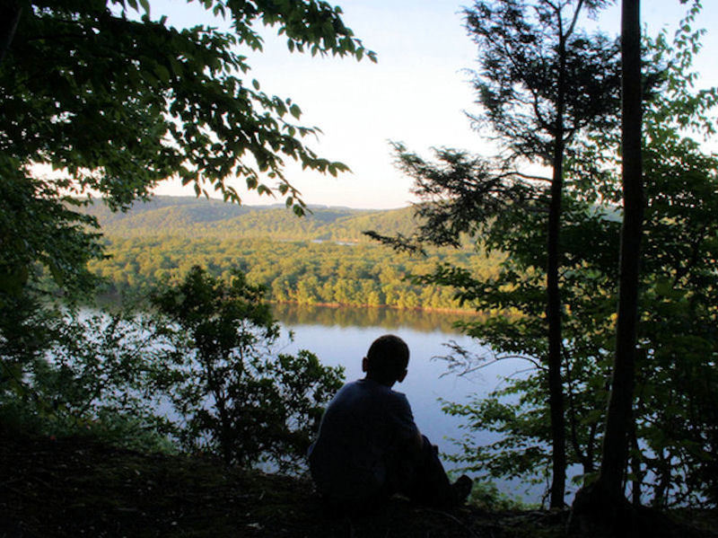 View of Susquehanna River from Urey Overlook, By John Beatty.