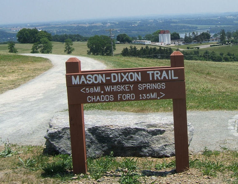 Sign at High Point Scenic Overlook, By Mike Calabrese.