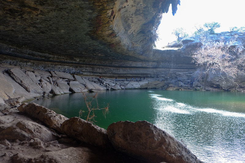 Hamilton Pools before the crowds hit