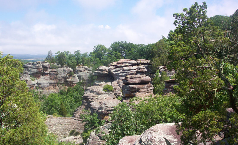 View from the Observation Trail.