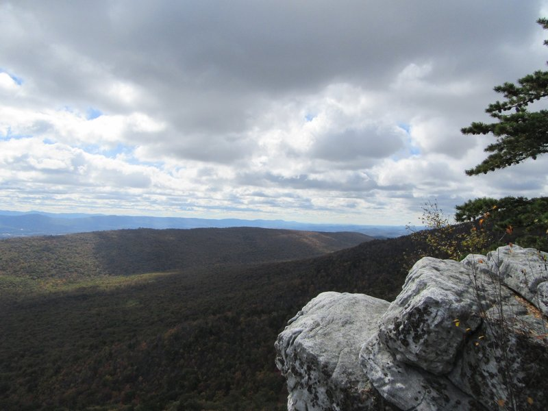 View at the final overlook.
