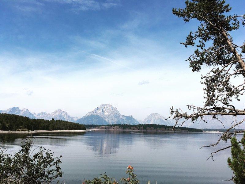 Jackson Lake. Grand Teton National Park.