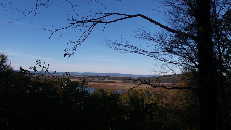 View of Middle Creek Valley from Millstone Trail.