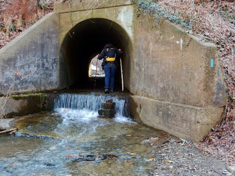M-DT Culvert at PA624. By Peggy Eppig.