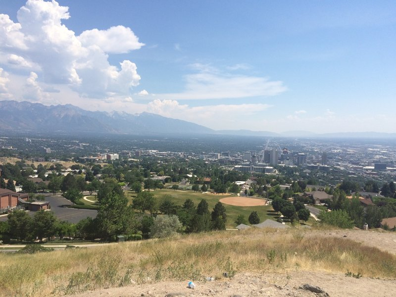 View from Ensign Peak.