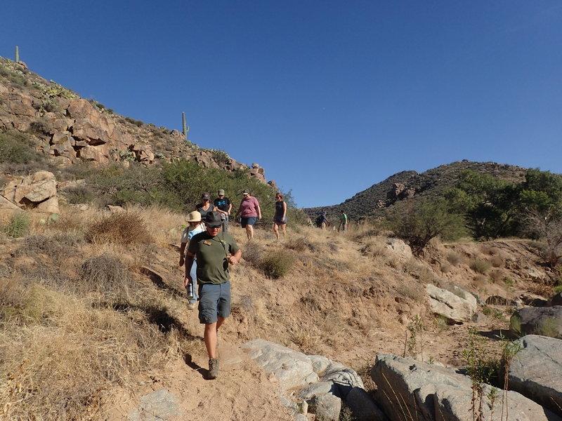 Fun on the trail.