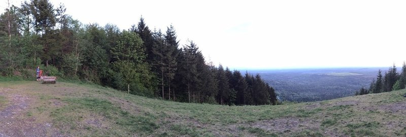 Open area at top of Poo Poo Point.