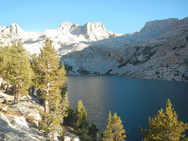 Colby Lake, Kings Canyon National Park.
