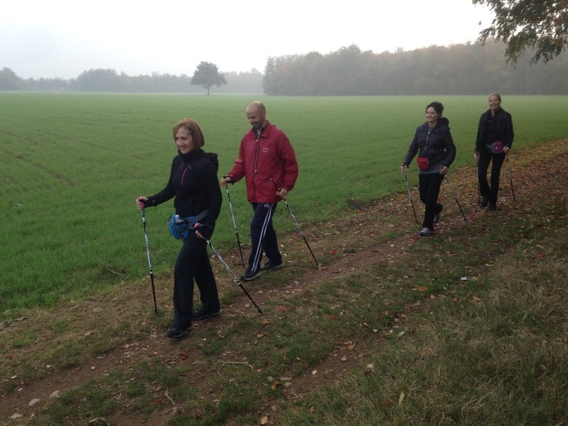 The Nordic Walking Team.