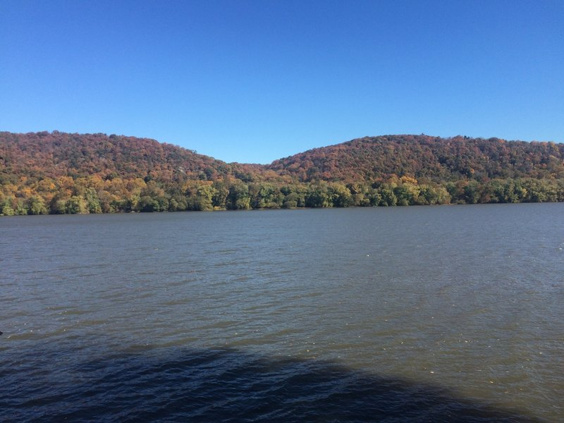 View of the Susquehanna along the trail.