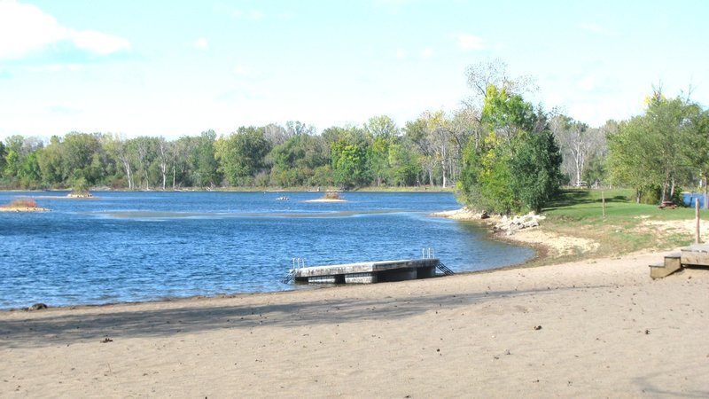 Lake Minear Beach.