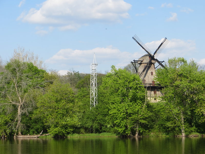 Fabyan Windmill.