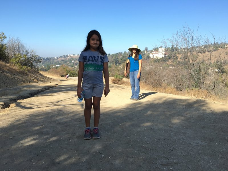 The dirt path of the Scrubjay Trail.