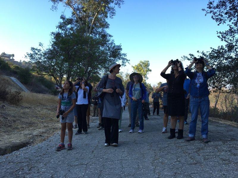 Bring your binoculars - lots of birding!