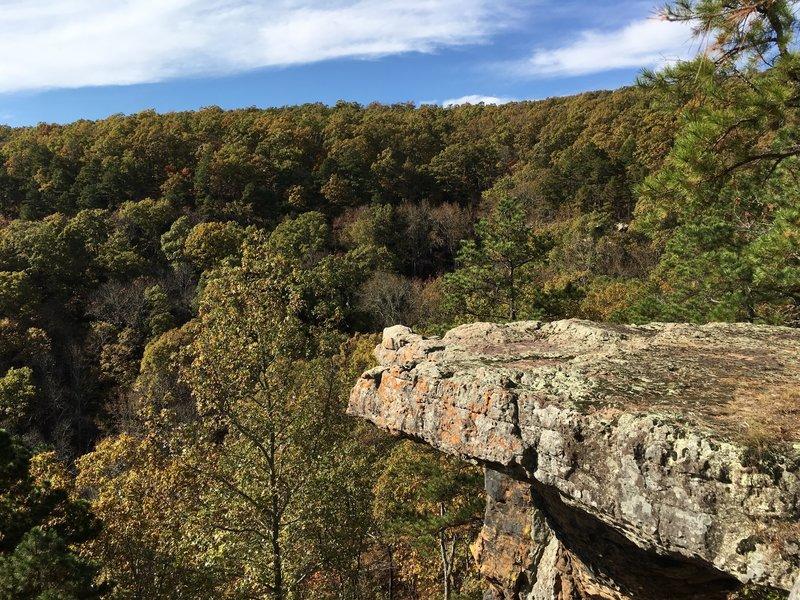 Pedestal Rocks area