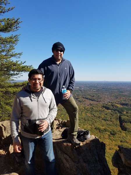 The top of Crowders