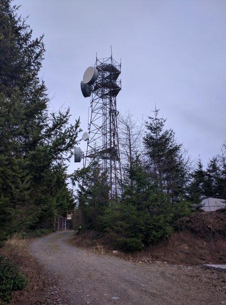 Radio tower.