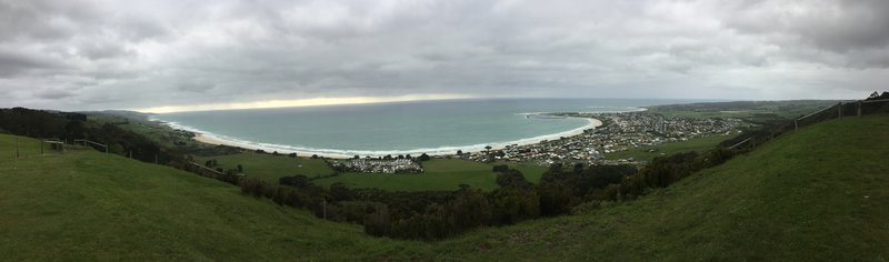 The expansive views on offer at Marriner's Lookout.