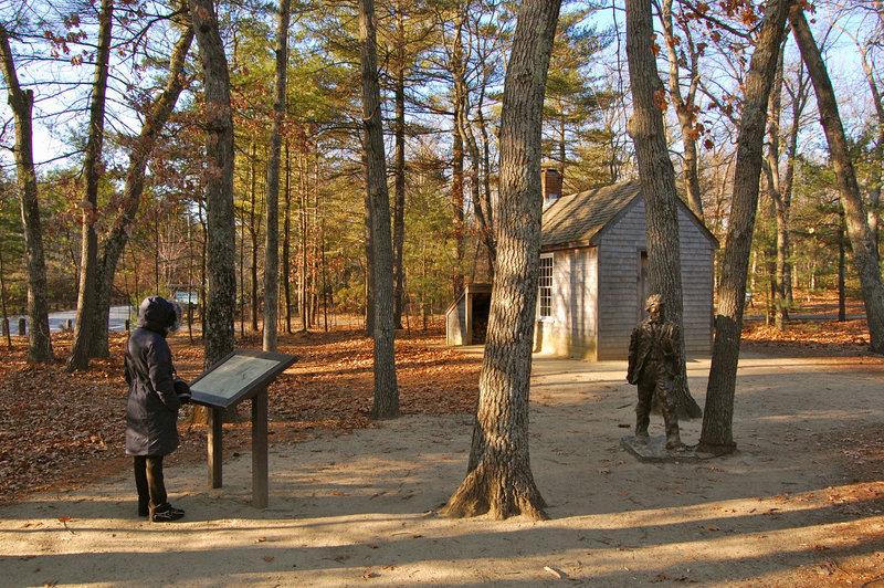 Thoreau's Cabin.