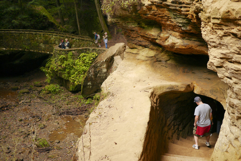 Old Man's Cave.