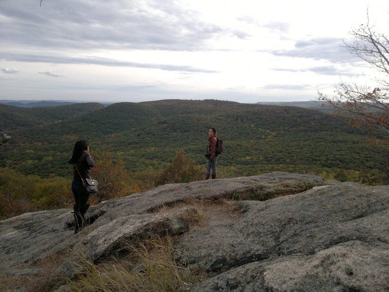 Hiked up Bear Mountain.