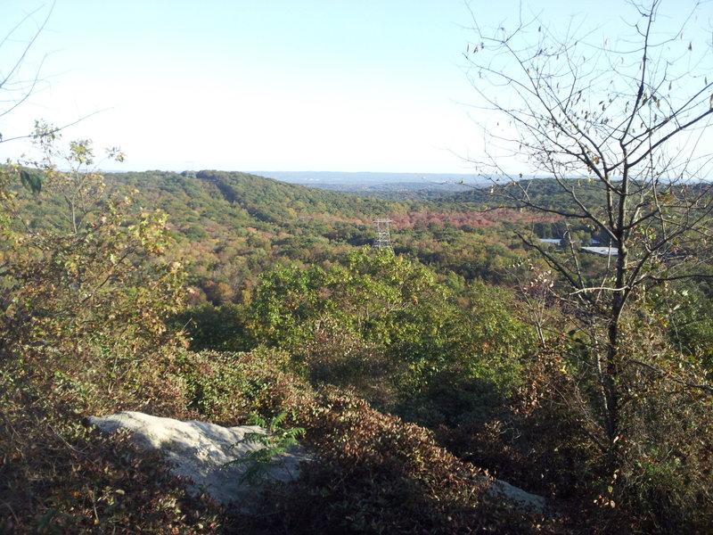 Scenic Overlook on the Blue Trail (Mennen).
