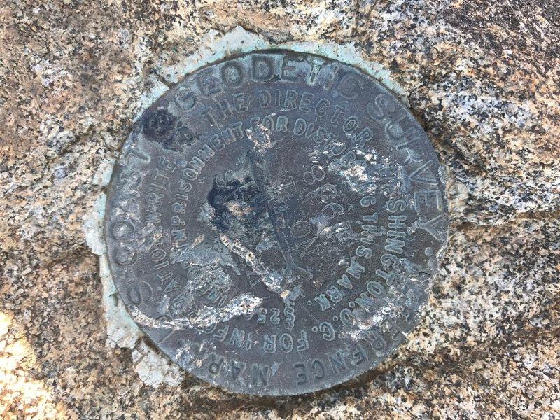 USGS Marker.