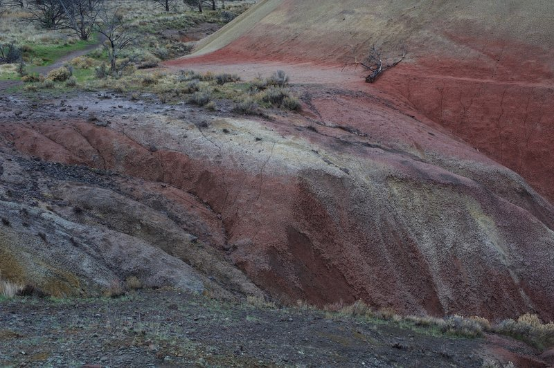 The Red Hill Trail allows you to see erosion at work.