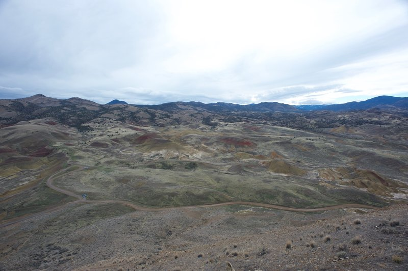 More of the Painted Hills unit of the John Day National Monument.  The 360 degree view from the top is stellar.