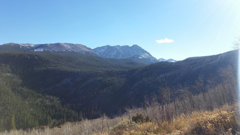 The views from the Eaglesmere Trail #61 can be spectacular.
