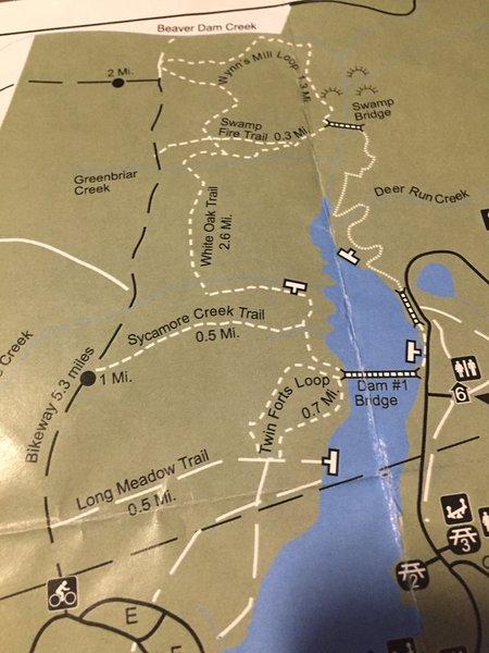 Newport News Park Map