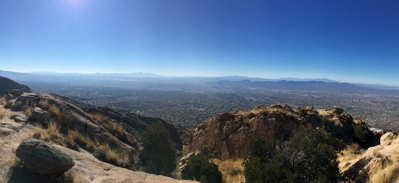 You really can't go wrong with the views of Tucson and Oro Valley from the Pusch Peak Trail.