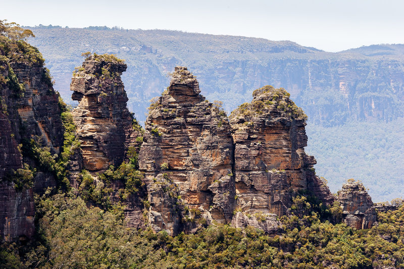 The Three Sisters are undoubtedly spectacular.