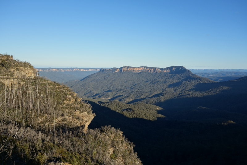 This view of the Blue Mountains never disappoints.