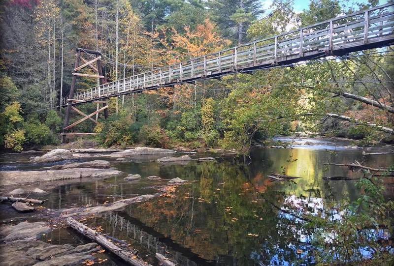 Toccoa Swinging Bridge - Photo Credit Samantha Smith Taylor.