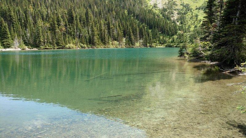 Lakeside at Bertha Lake
