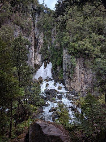 Tarawera Falls is phenomenally beautiful.