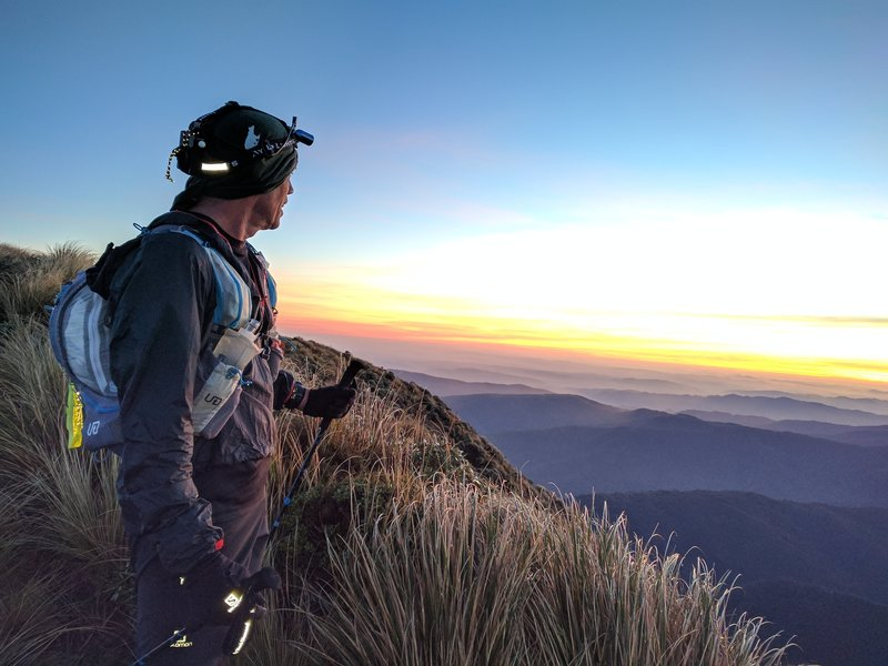 Catching an early morning sunrise over Herepai should be on the bucket list of every NZ trail runner.
