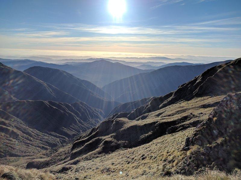 S-K Traverse Hiking Trail, Levin, New Zealand
