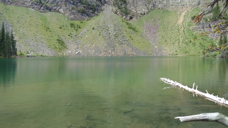Goat Lake is a small, sub-alpine lake below Avion Ridge and Continental Divide peaks.