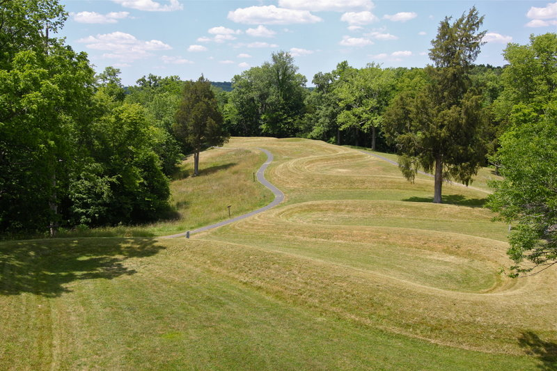 While its origin is still unknown, Serpent Mound provides an exciting spectacle for visitors to the area.