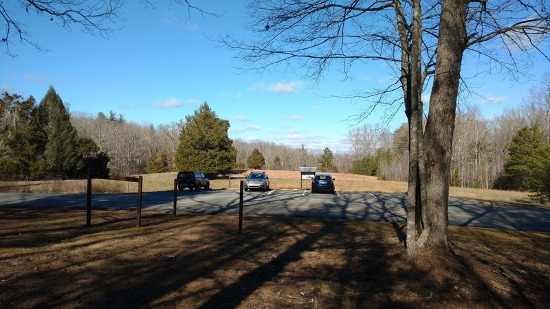There's limited parking at the Sunset Overlook and Leatherwood Trailheads.