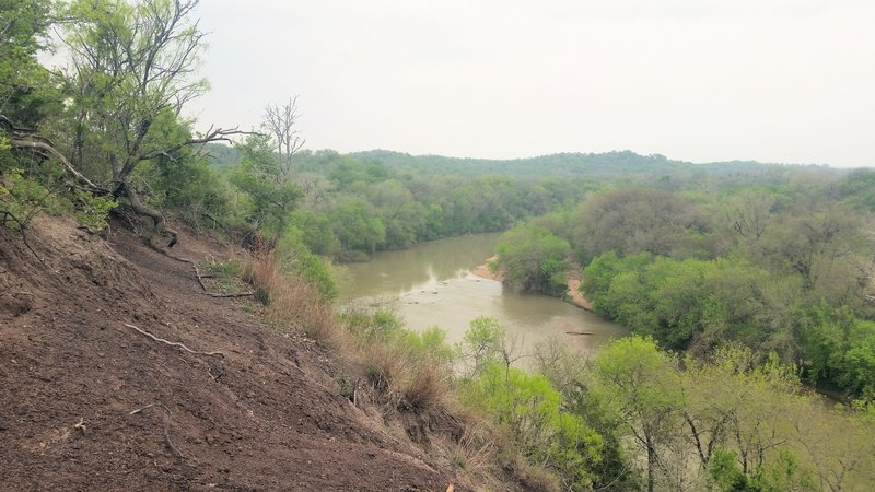 McKinney Roughs offers scenic views of the Colorado River when looking upriver from the Bluff Trail.