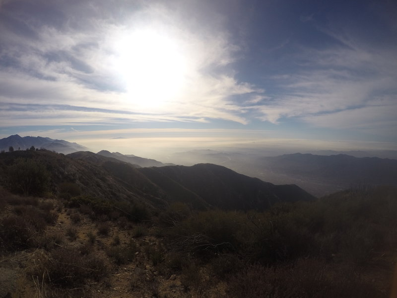 The gorgeous views from Mt. Lukens rarely disappoint.