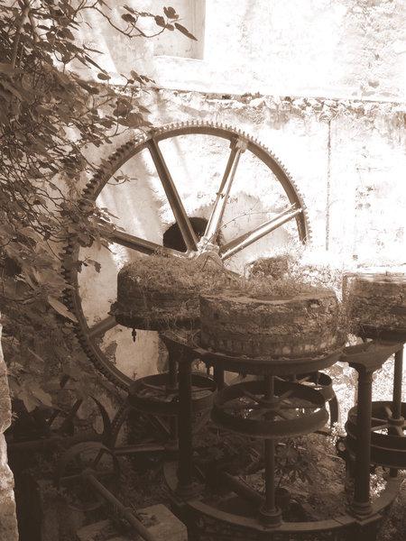 Ebeirikos Watermill Fabrica Andros Cyclades