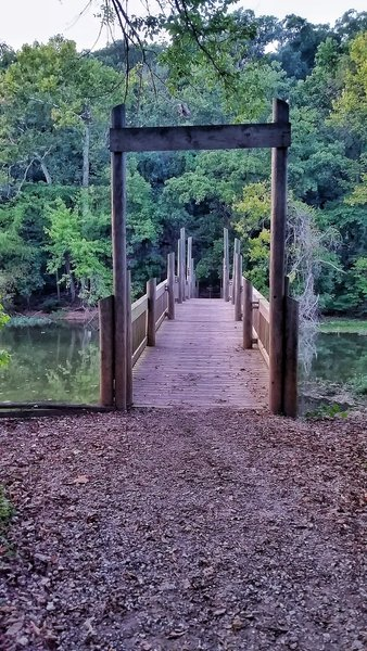 A sturdy bridge aids your travel over the James River.