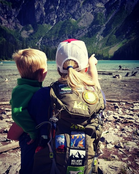 Avalanche Lake gets passed on to the younger generation.