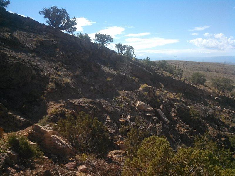 The Sidewinder Trail offers classic high-desert singletrack.