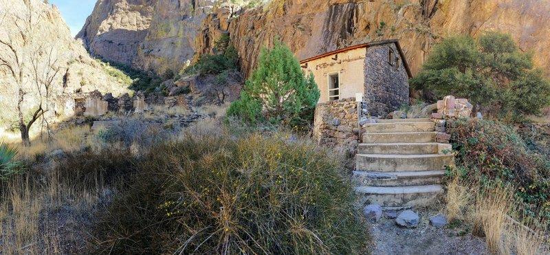 Van Patten's Dripping Springs Resort was originally built in the 1870's.