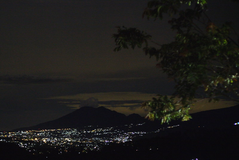Bukit Moko offers gorgeous nighttime views.